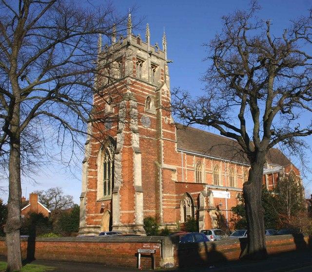 St Mark's Church, Rugby Road, Leamington Spa