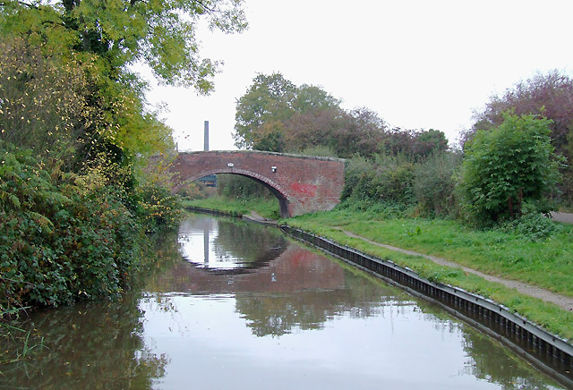 Trent and Mersey Canal at Handsacre, Staffordshire