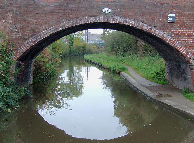 Bridge No 59 at Handsacre, Staffordshire