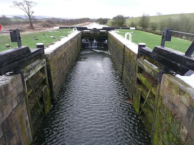 Canal lock, Thurnham