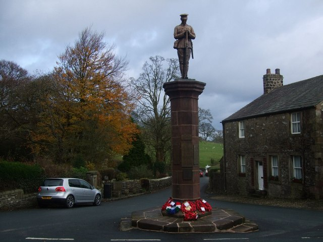 War memorial at Slaidburn