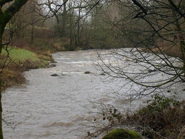 Kirkintilloch, Luggie Water at Oxgang