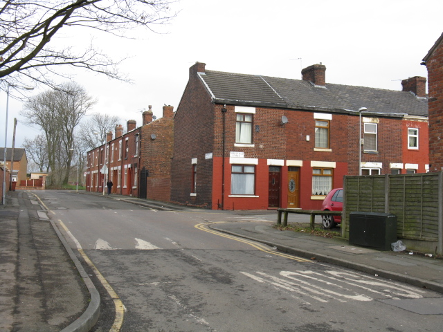 Terraced Houses On Hemsley Street