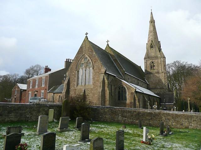 The Church of St Thomas and St Elizabeth, Thurnham