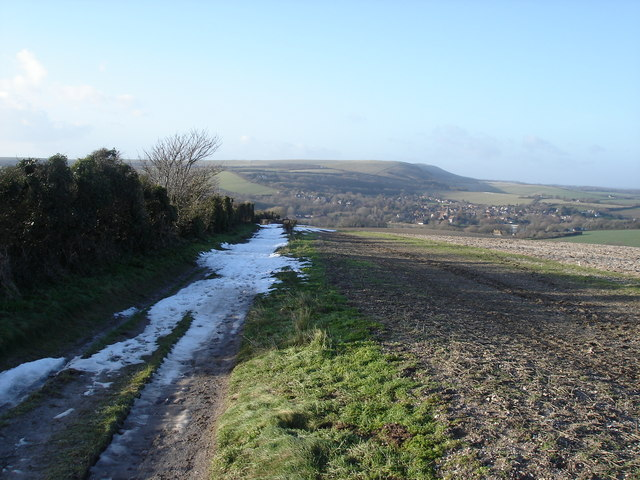 View towards Alfriston