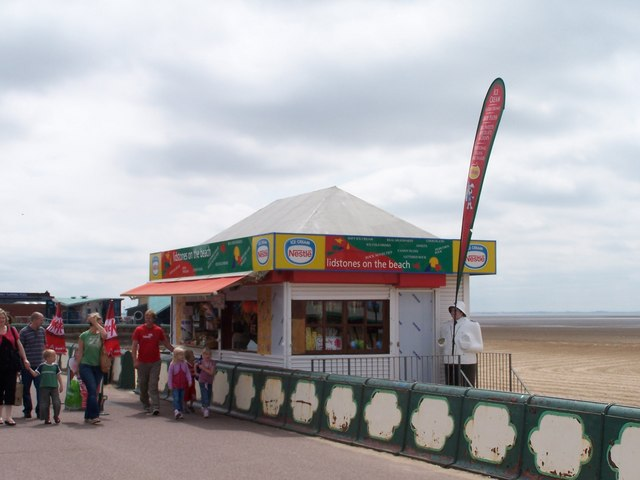 Ice Cream Kiosk, Promenade, St Annes-on-Sea