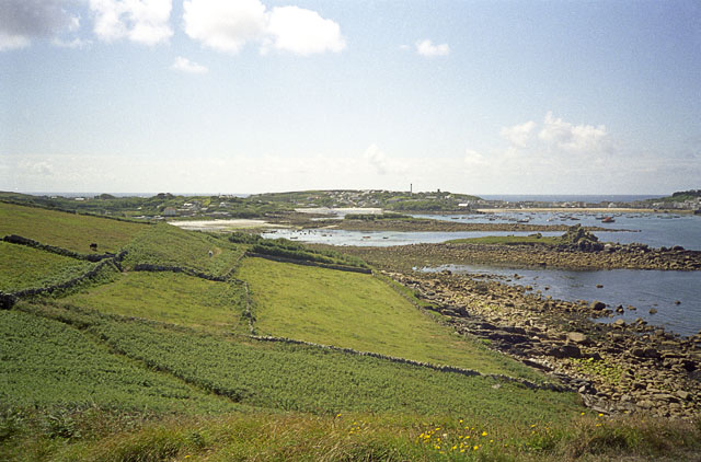 Fields between Porthloo and Carn Morval