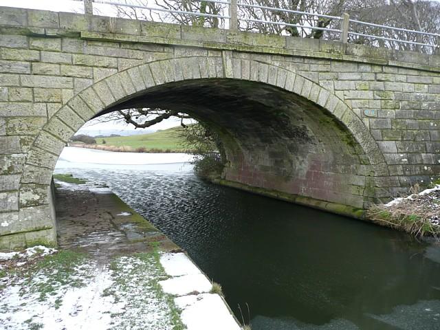 Bridge No.6 of the Glasson Canal, Thurnham