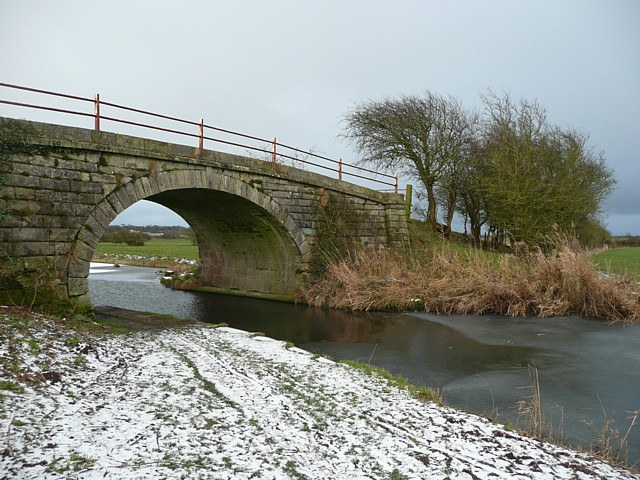 Brick Kiln Bridge,  No.7 on the Glasson Canal, Thurnham