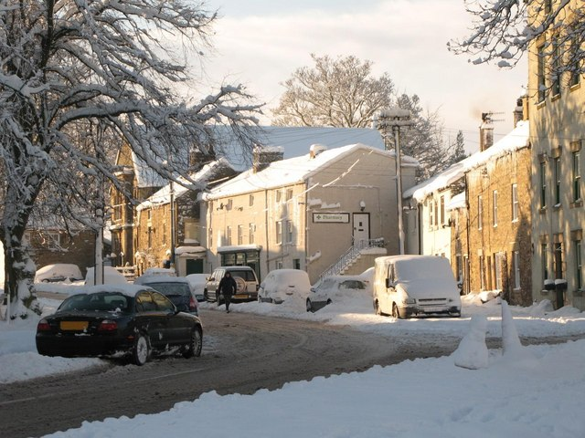 Shield Street in the snow (2)