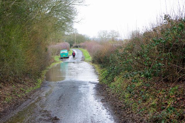 Flood on Gibbs Brook Lane