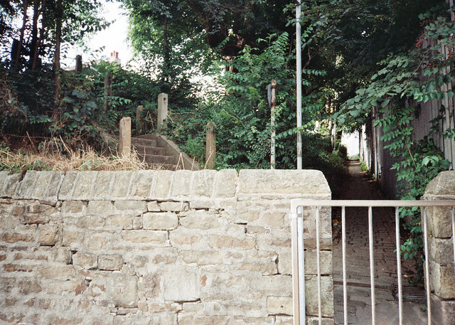 Khyber pass and old steps - Ryelands in Lancaster