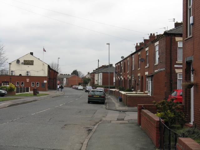 Chadderton - Foxdenton Road Near The Nimble Nook
