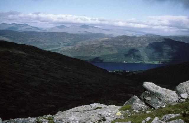View north from summit of Ben Vorlich