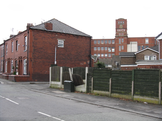 Chadderton - Raven Mill From Denton Lane