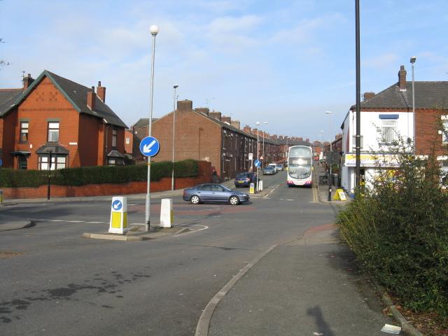 Copster Hill Road Meets Hollins Road
