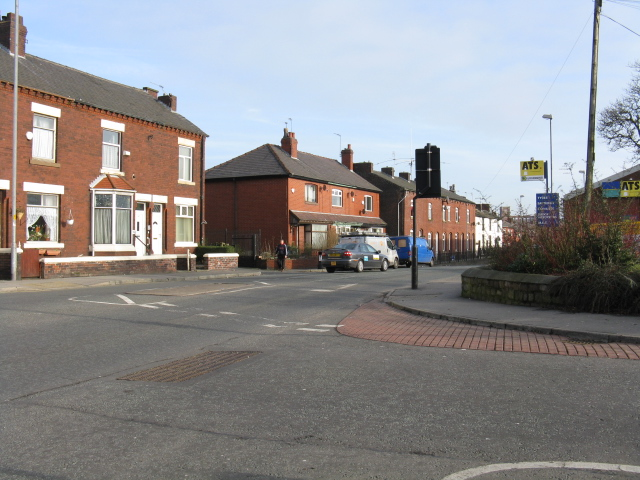 Hollins Road At Copster Hill Road Roundabout