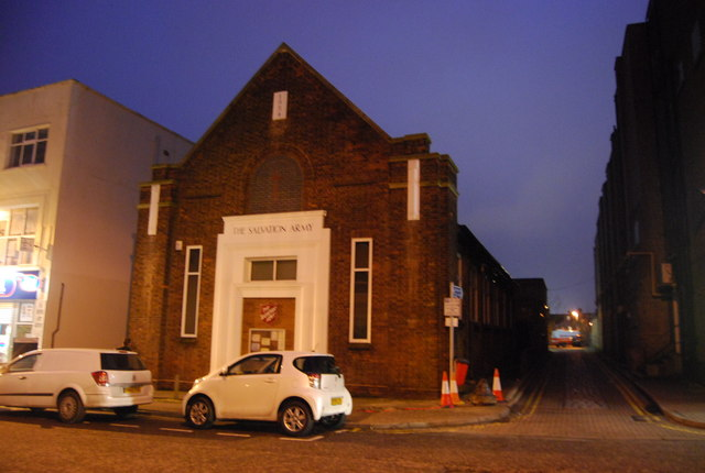 Salvation Army, Green St