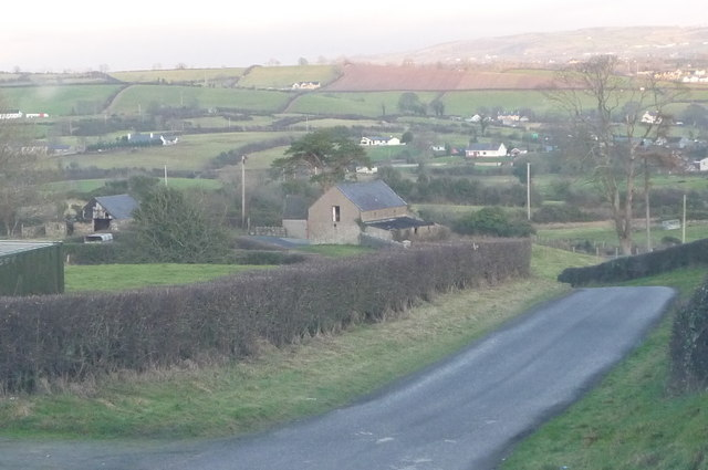 Farmland along Fort Hill Road