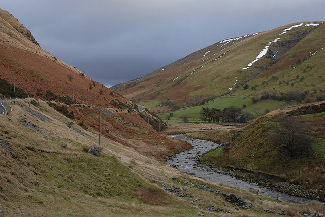 Cwm Ystwyth, near Tŷ-Mawr