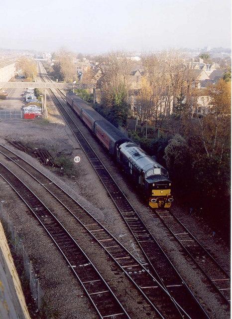 Class 37 near Queen Street