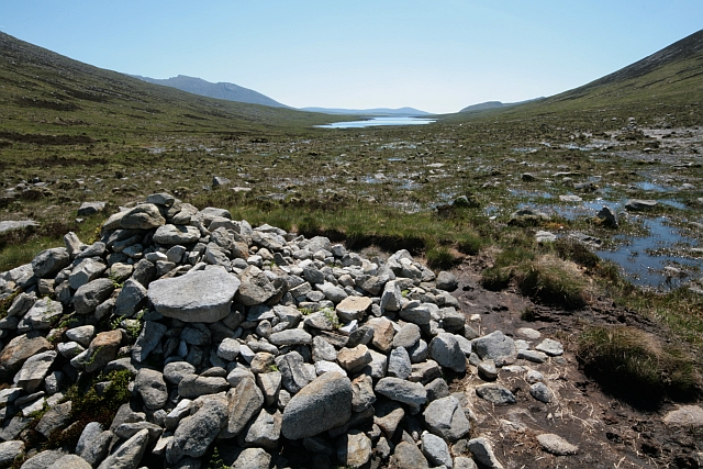 Cairn near the North end of Loch Tanna