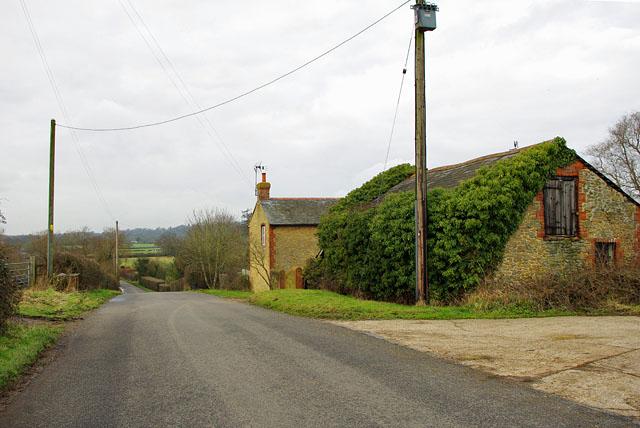 Older buildings, Gincox Farm