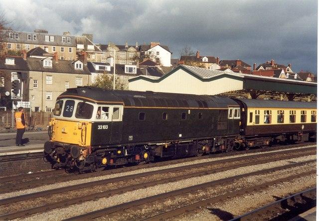 Class 33 at Newport