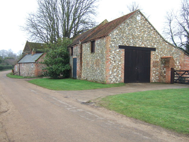 Traditional farm buildings, Castle Rising