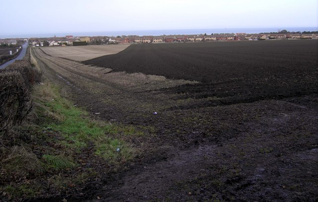 Ploughed Fields at Seton