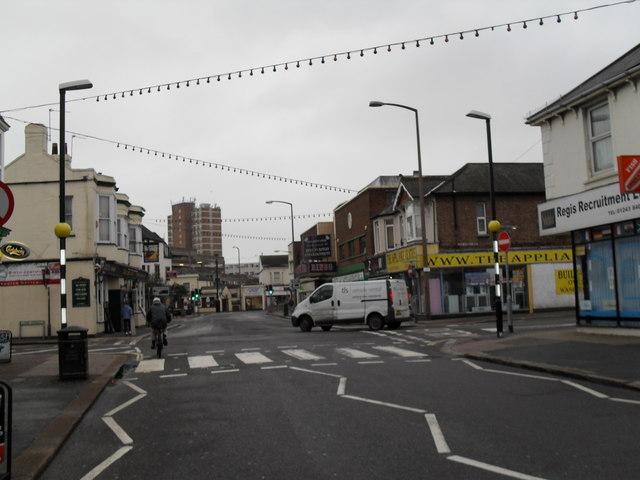 Crossroads of London Road and Lyon Street (3)