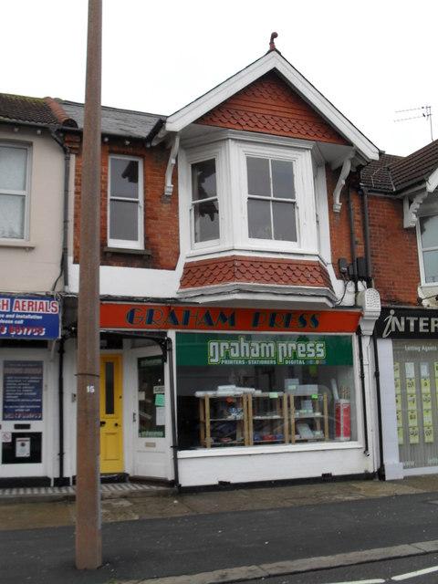 Graham Press in London Road