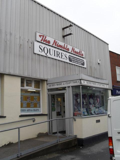 The Nimble Needle in London Road