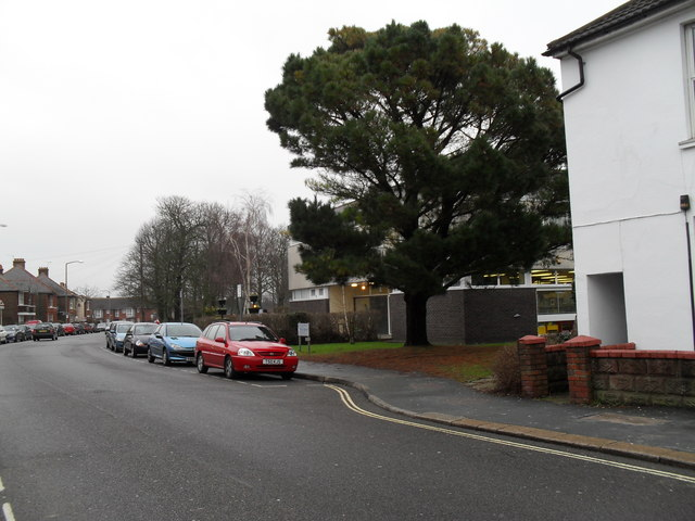 Parked cars in London Road