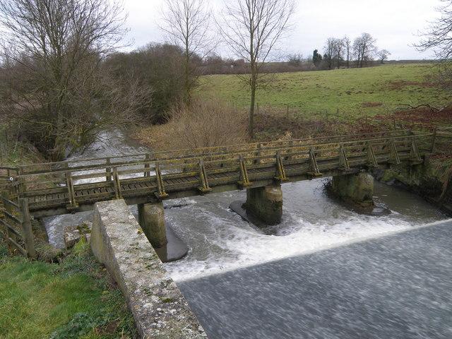 Footbridge over the Willow Brook