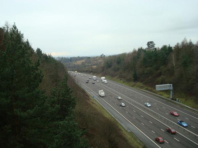 M23 Southbound near Nutfield