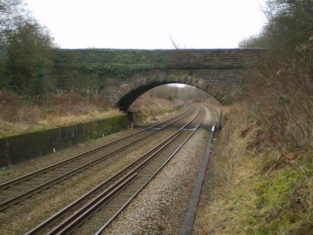 Bridge over the railway