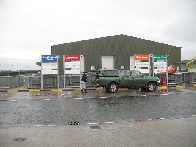 Waste processing centre, Wallyford