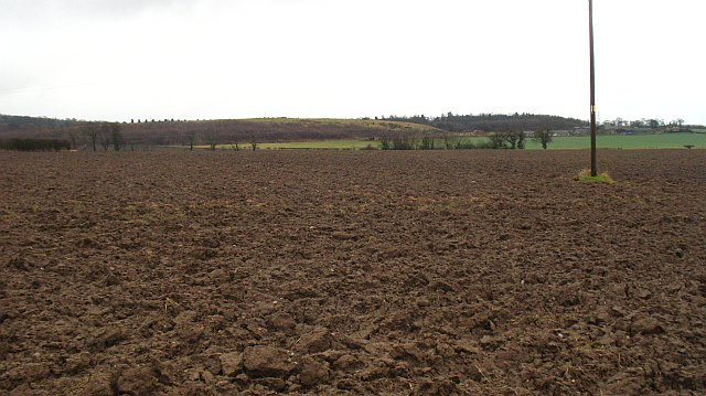 Ploughed field, Crookston