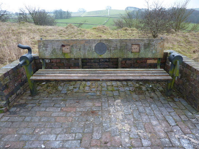 A bench on the Tissington trail
