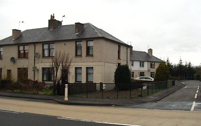 Houses, Whitecraig Road