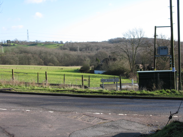 Mill Lane junction on New Road Hill