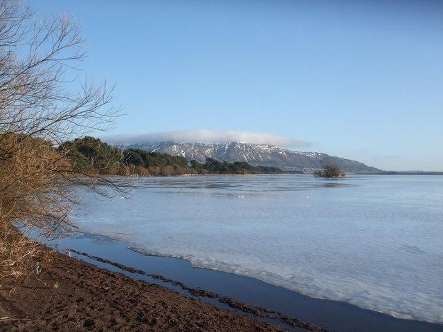 Loch Leven at Burleigh Sands