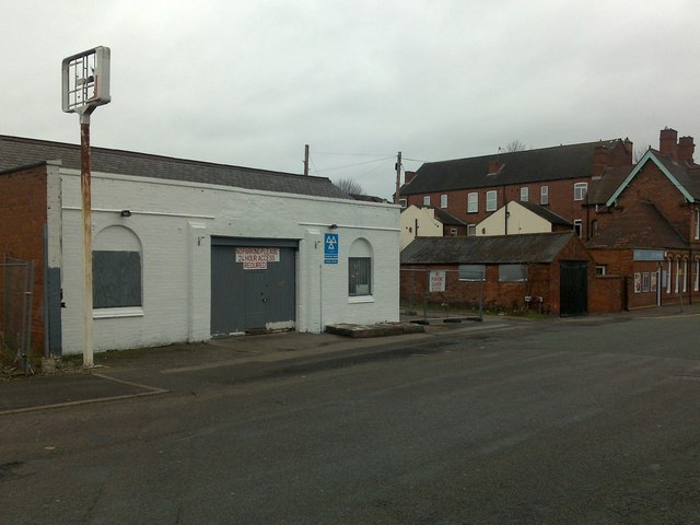 Old Garage on Manor Road