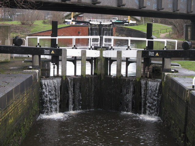 Tinsley Flight, Sheffield and Tinsley canal