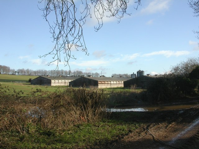 Boulsbury, farm buildings