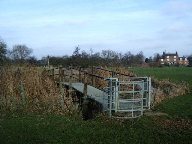 Footbridge across River Avon