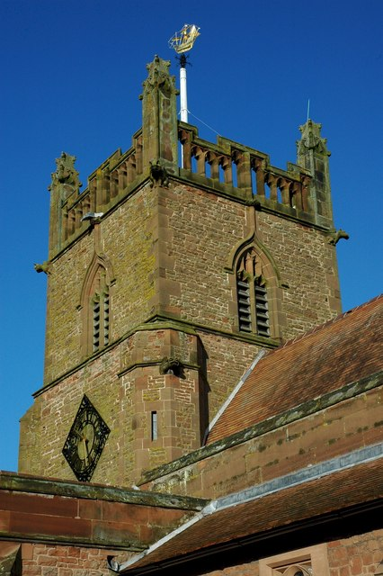 Tower of Lower Broadheath Church