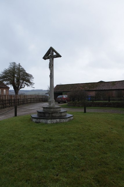 Kirby Underdale village cross
