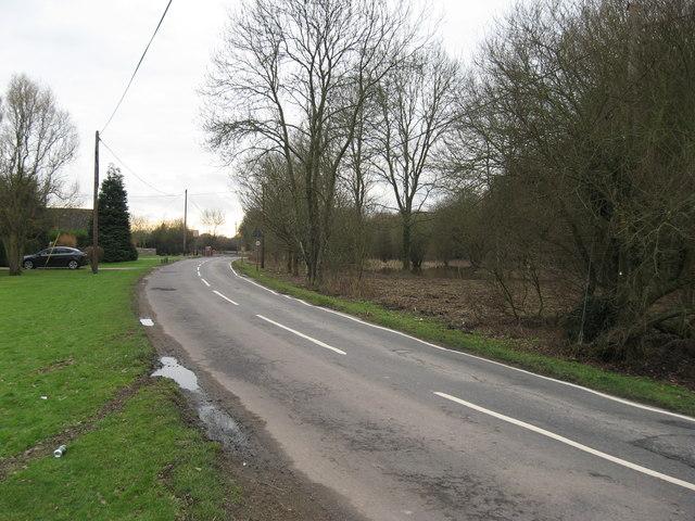 Tandridge lane looking south west towards Ray lane, near Blindley Heath, Surrey